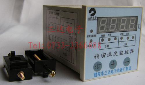 安装及接线图,lwk-d2(th)温(湿)度监控器产品图片