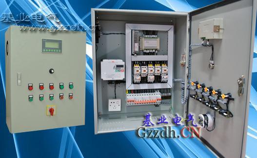 数控锅炉配电箱接线示意图