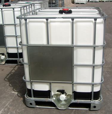 方型塑料吨桶配件图的尺寸