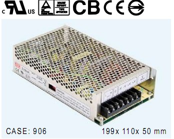 明纬S-150-24电源