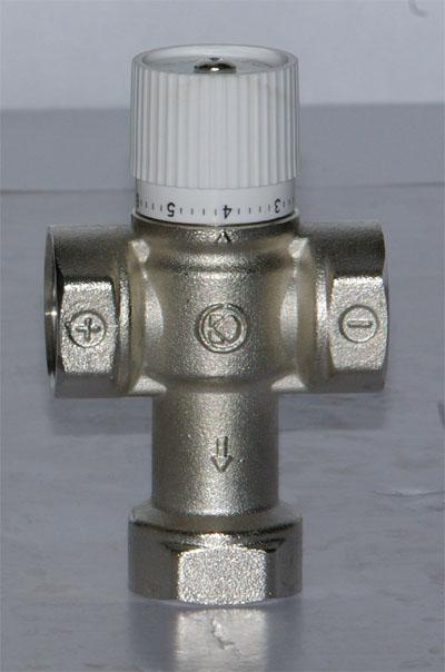 地暖,太阳能,热水器使用恒温混水阀