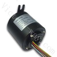 精密导电滑环,设备滑环,内径25.4mm过孔式导电滑环