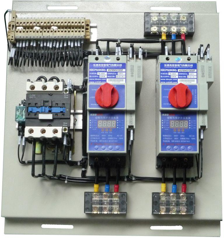 百方网 产品中心 低压电器 电动机保护器 kbod双速控制器