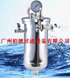 上海袋式过滤器-上海过滤器-上海小流量袋式过滤器