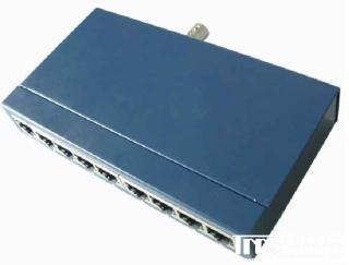 8口集线器带BNC接口