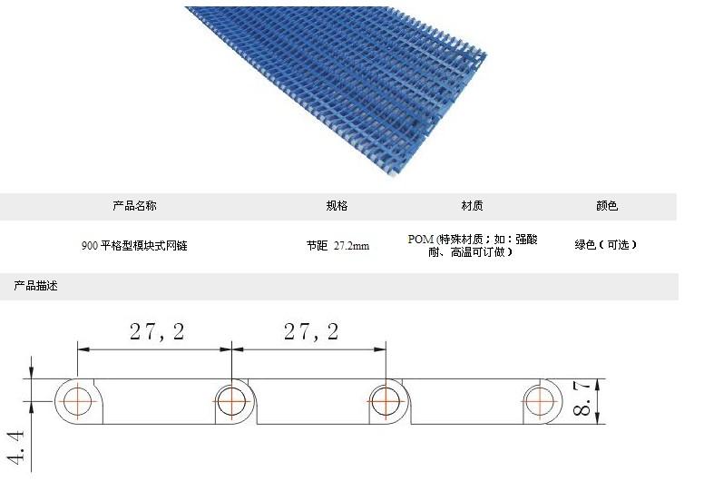 S900平格型网链