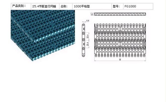 1100平格网链