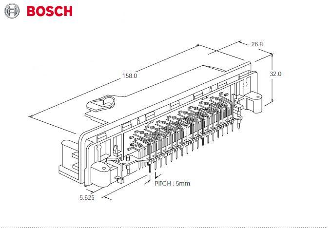 博世m7 电脑81针电路图