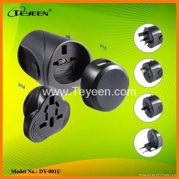 全球通多功能USB插座DY-001U