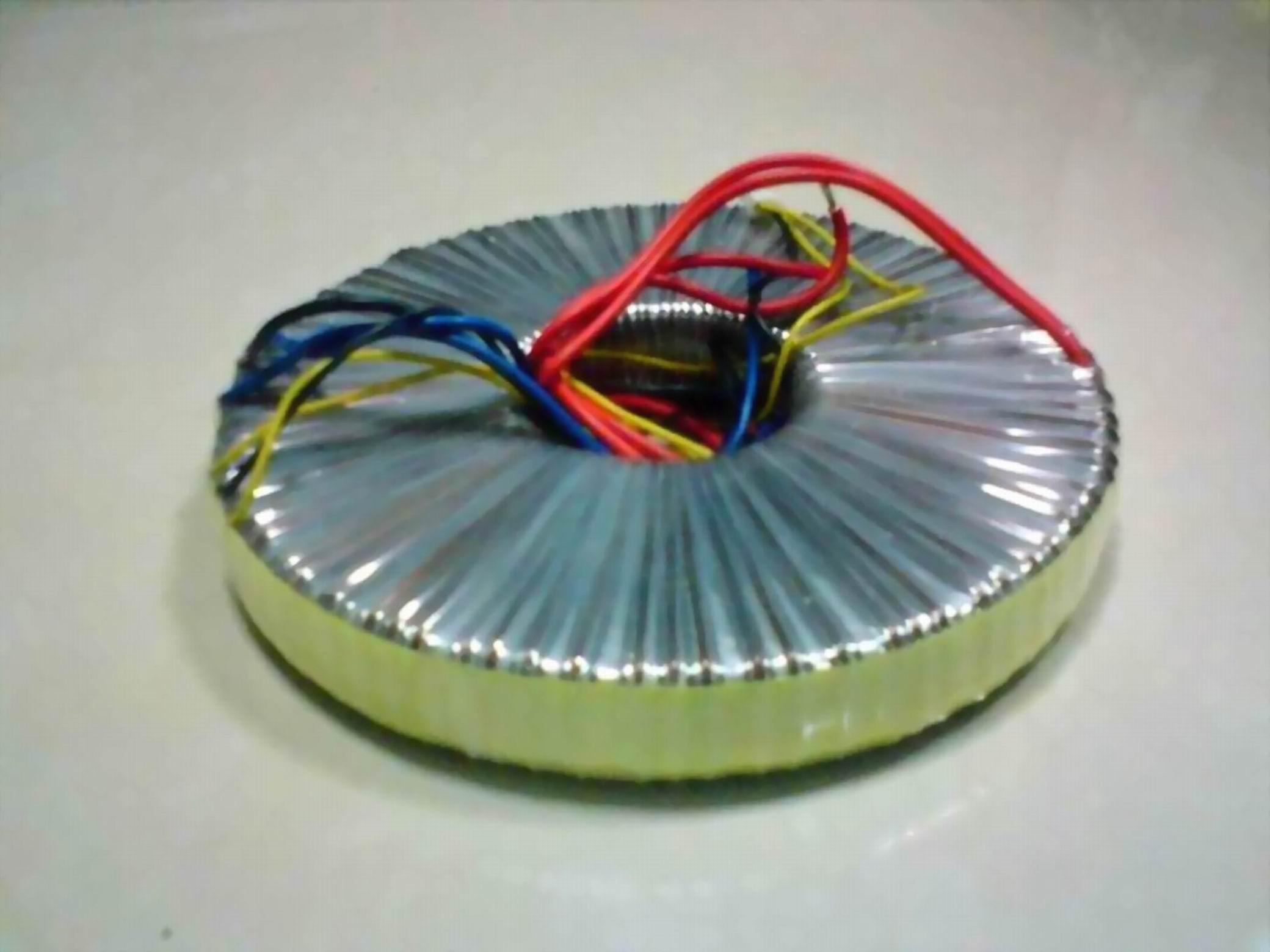 本厂所生产环形变压器取用优质铁芯和名牌漆包线绕