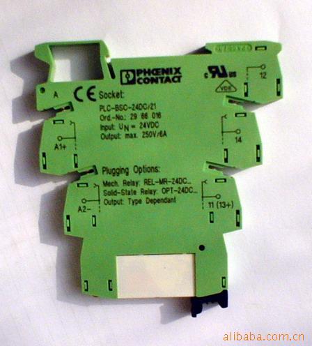 菲尼克斯继电器plc-rsc-24dc/21
