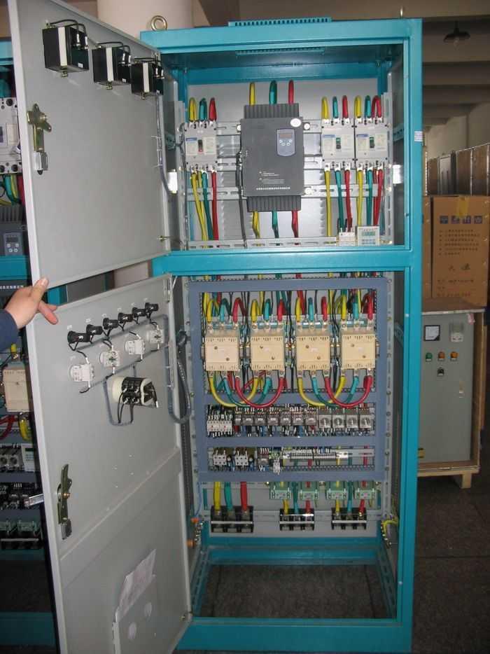 污水处理plc系统控制柜