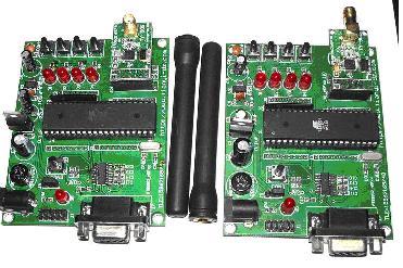 avr单片机系列无线模块学习板
