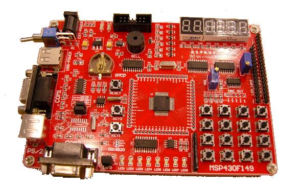 msp430f149开发板(图)