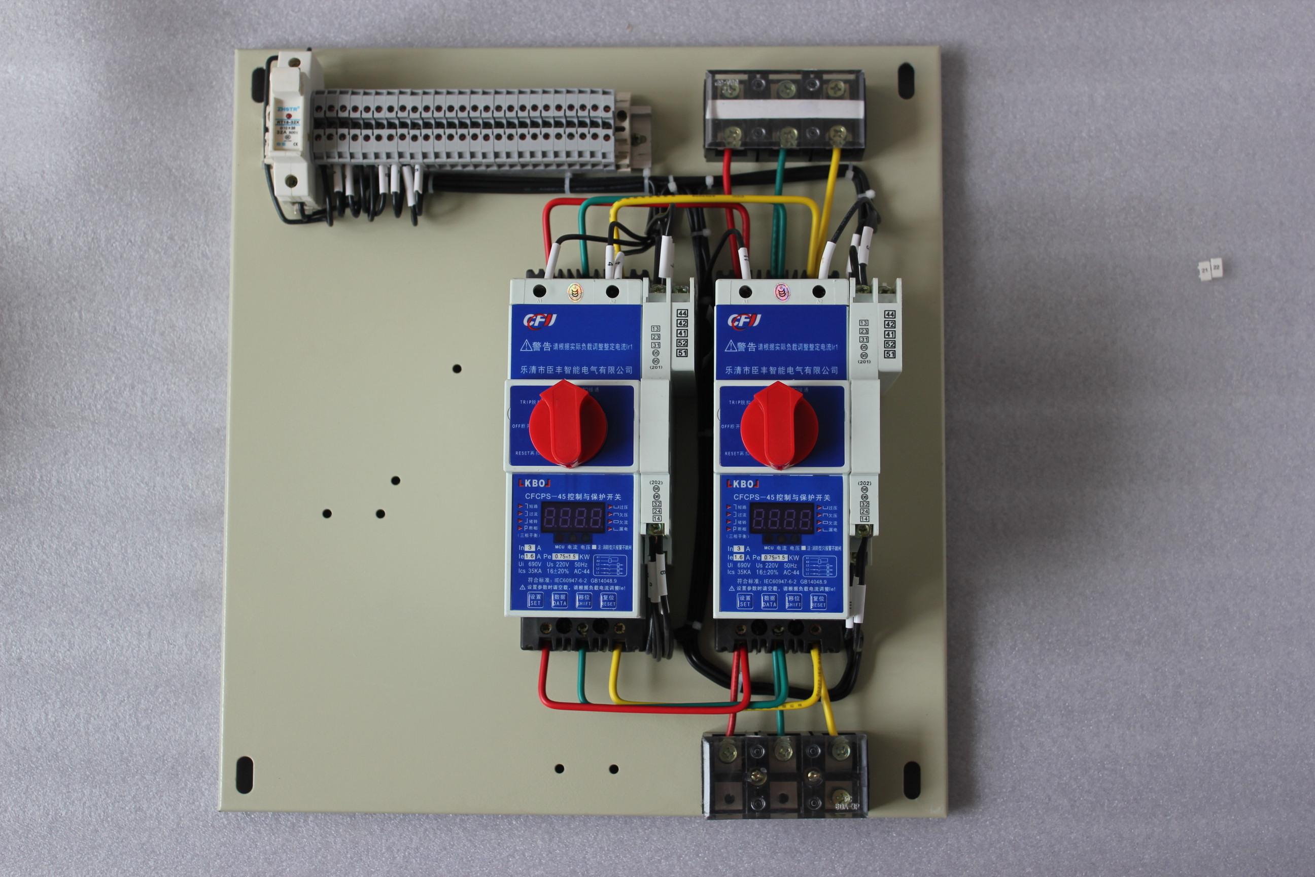 频繁起动的电动机负载,配电电路负载的控制与保护.
