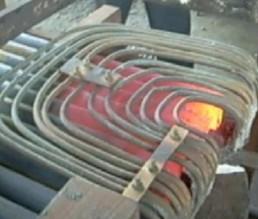冷拉型钢厂专用热轧头加热电炉