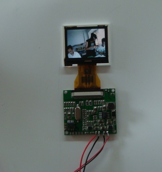 厂家直销1.5寸模拟信号液晶彩色模块