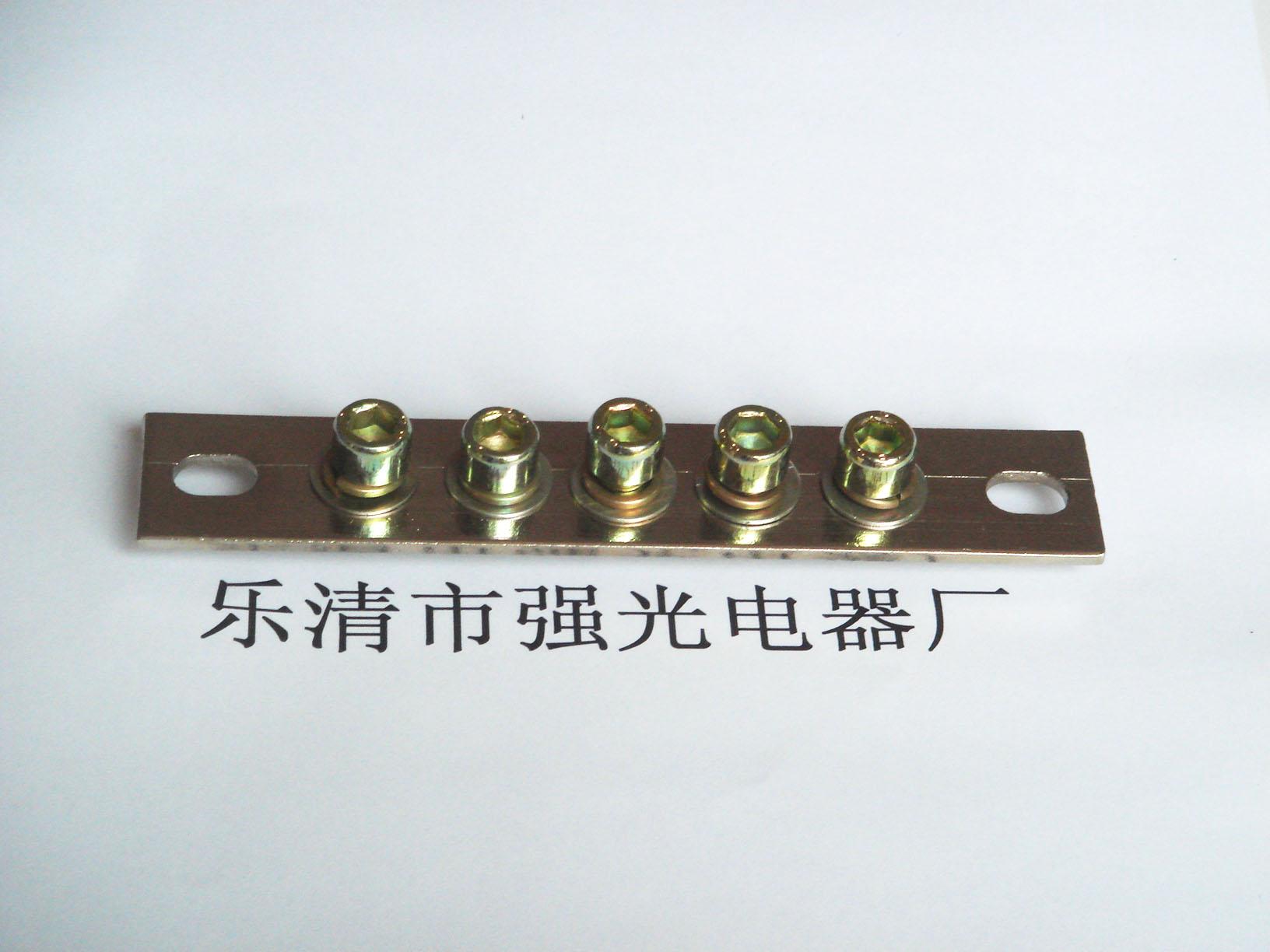 接线铜排xp0325a-5位 接线端子 铜端子