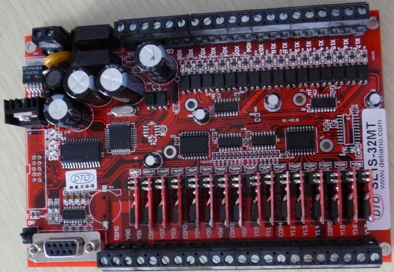 三菱plc晶体管输出电路图