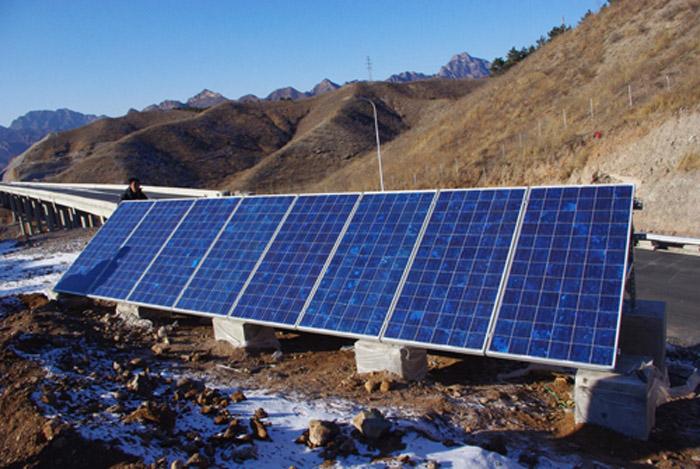 广西玉林容县太阳能监控发电系统厂家
