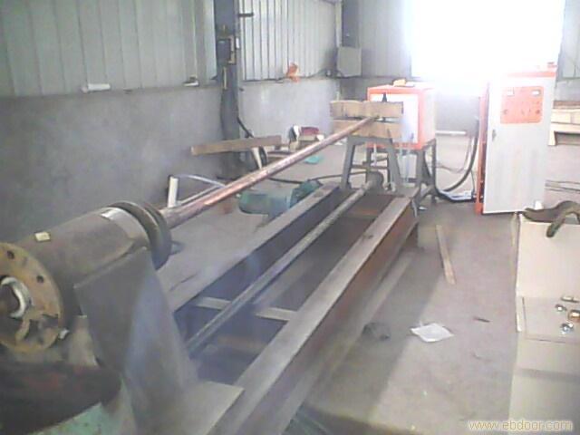 Φ133砼泵管内壁淬火成套设备