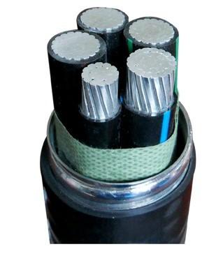 铝合金电缆ACWU90-YJHLV82-聚氯乙烯护套联锁铠装铝合金电缆