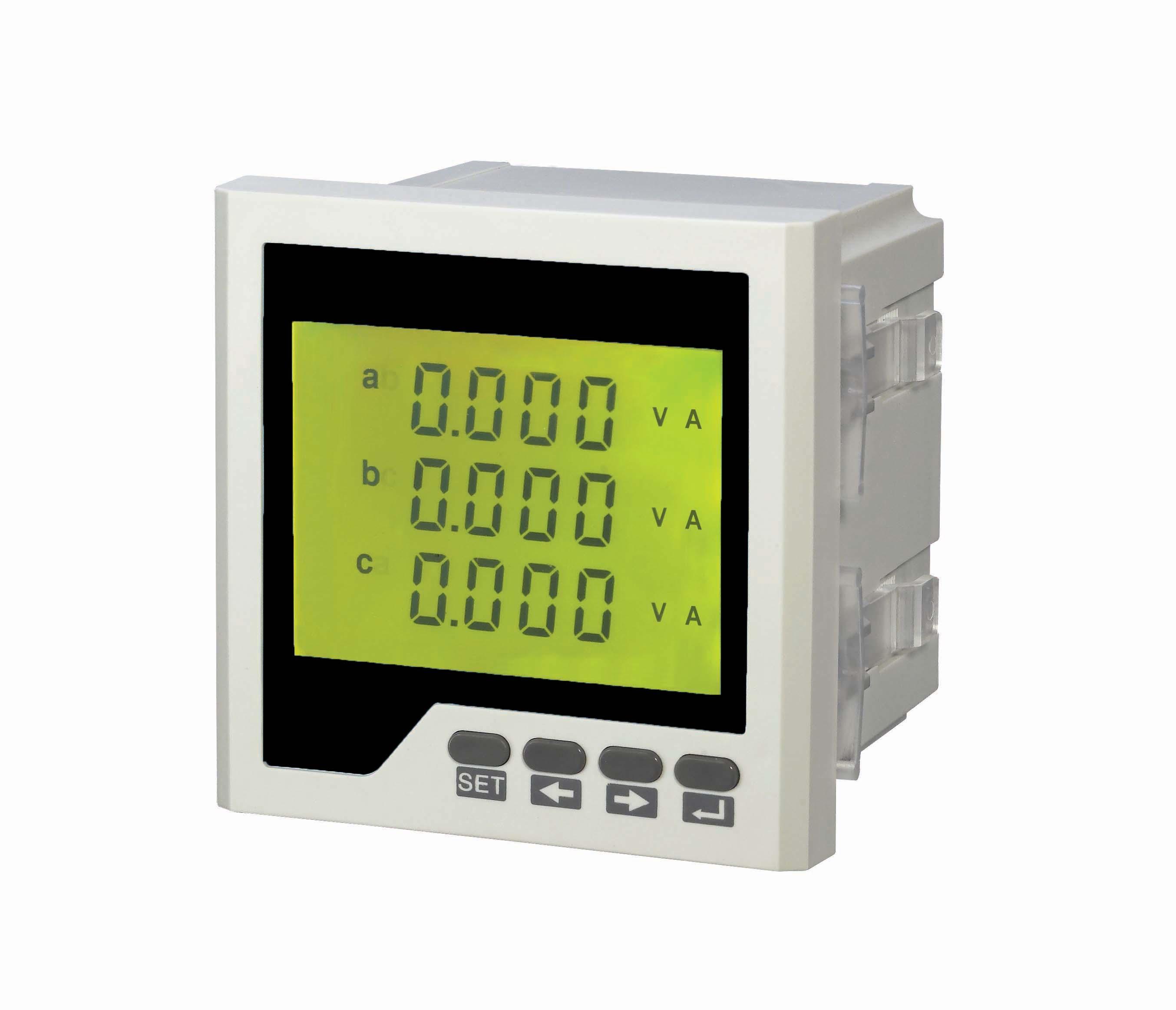 数显电流电压组合表