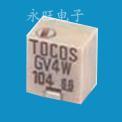 TOCOS总代理商 电位器TOCOS 电位器Gv4,电位器GF063P