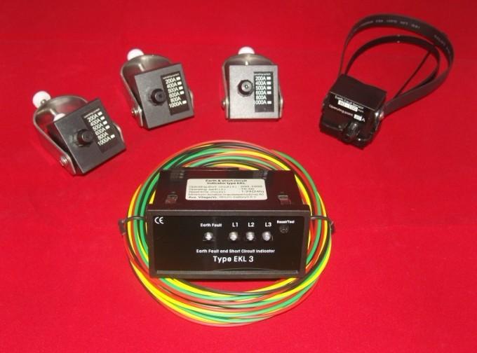 面板型短路接地故障指示器EKL-3