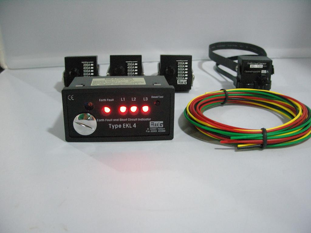 面板型短路接地故障指示器XW-EKL4