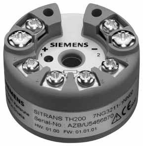 TH200 西门子温度变送器 7NG3211-1NN00 现货