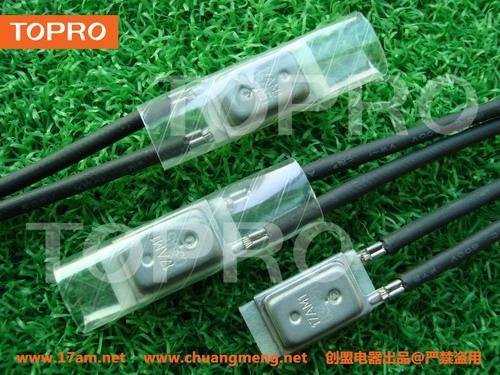 17AM+PTC大电流断电复位温度开关 手动延时复位热保护器