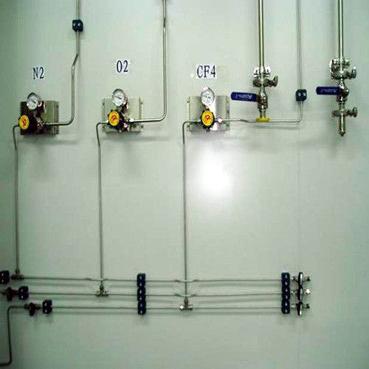 实验室气路 氧气管道 氮气管道 氩气管道 乙炔管道