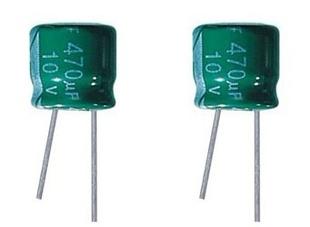 105°c +高温度标准品电解电容器