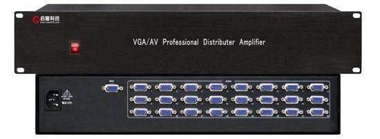 VGA分配器1分24,VGA分配器1进24出