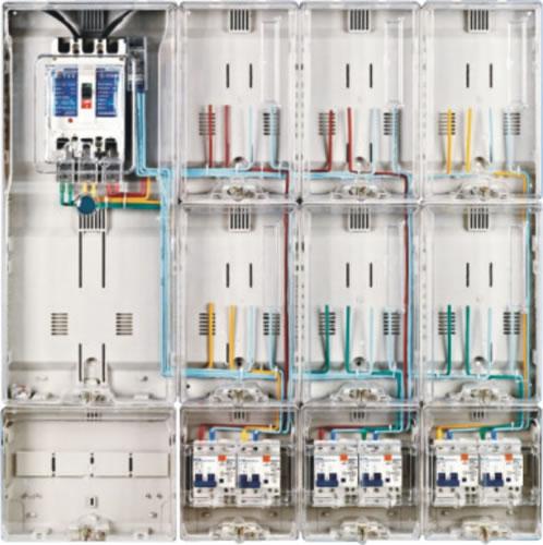 单相拼装电表箱