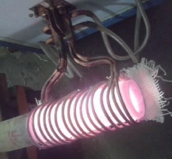 光伏螺旋地桩热缩口设备