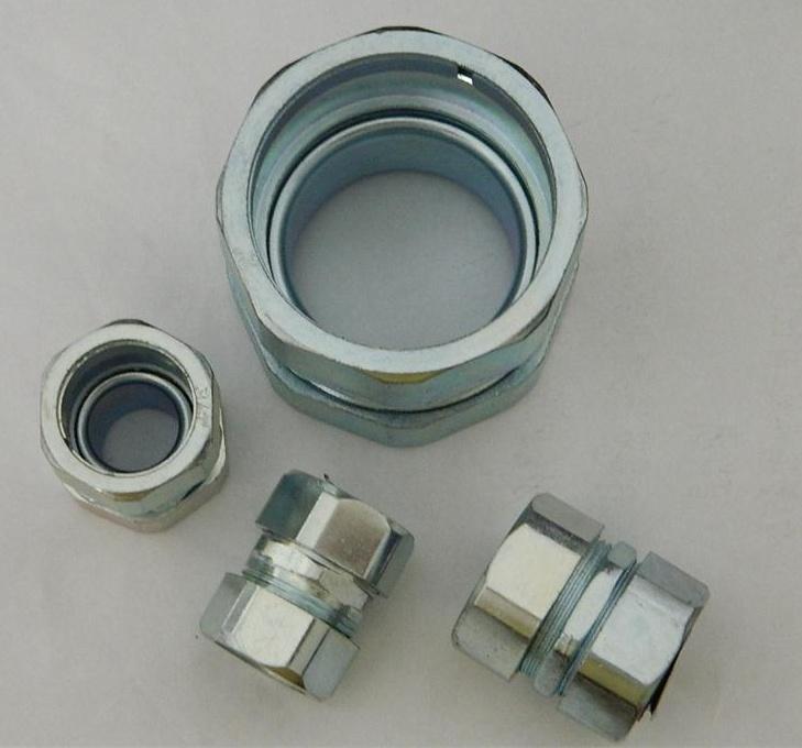 自固锌合金接头   镀锌软管