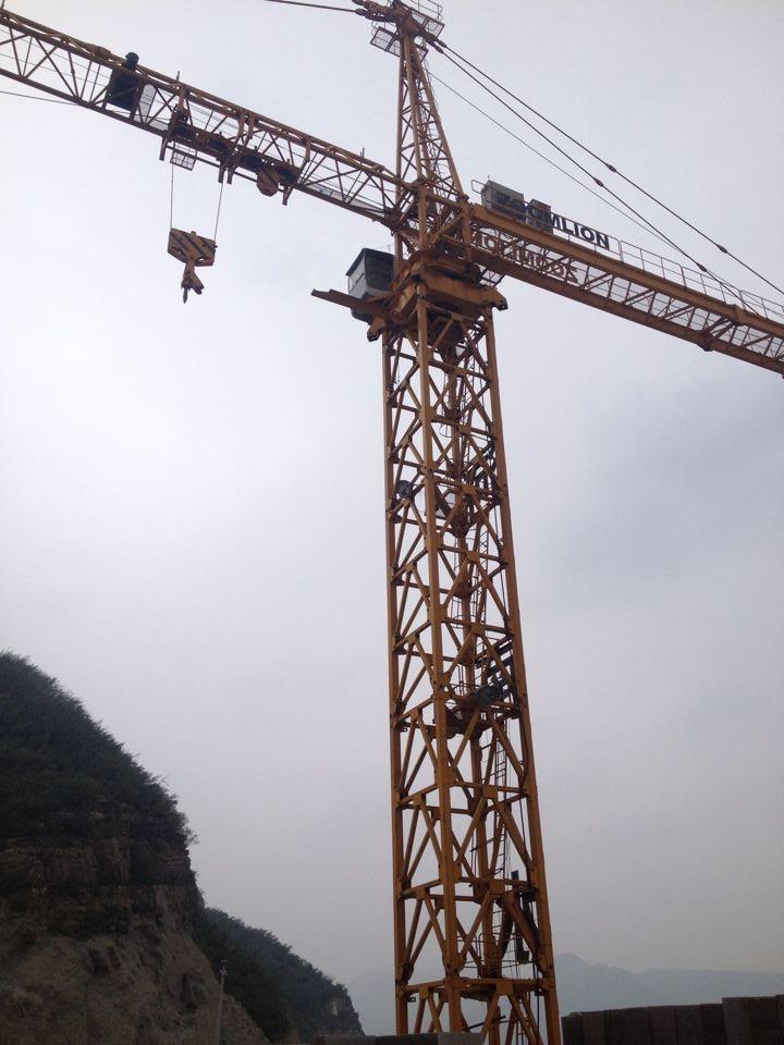 西安中联重科塔吊租赁