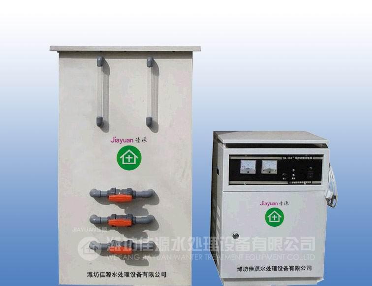 HB-100电解法二氧化氯发生器工作原理 潍坊佳源水处理设备有限公司