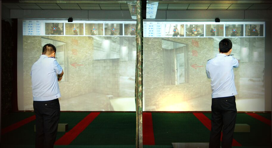 室内精度靶场和影像靶场设备、安装设计方案