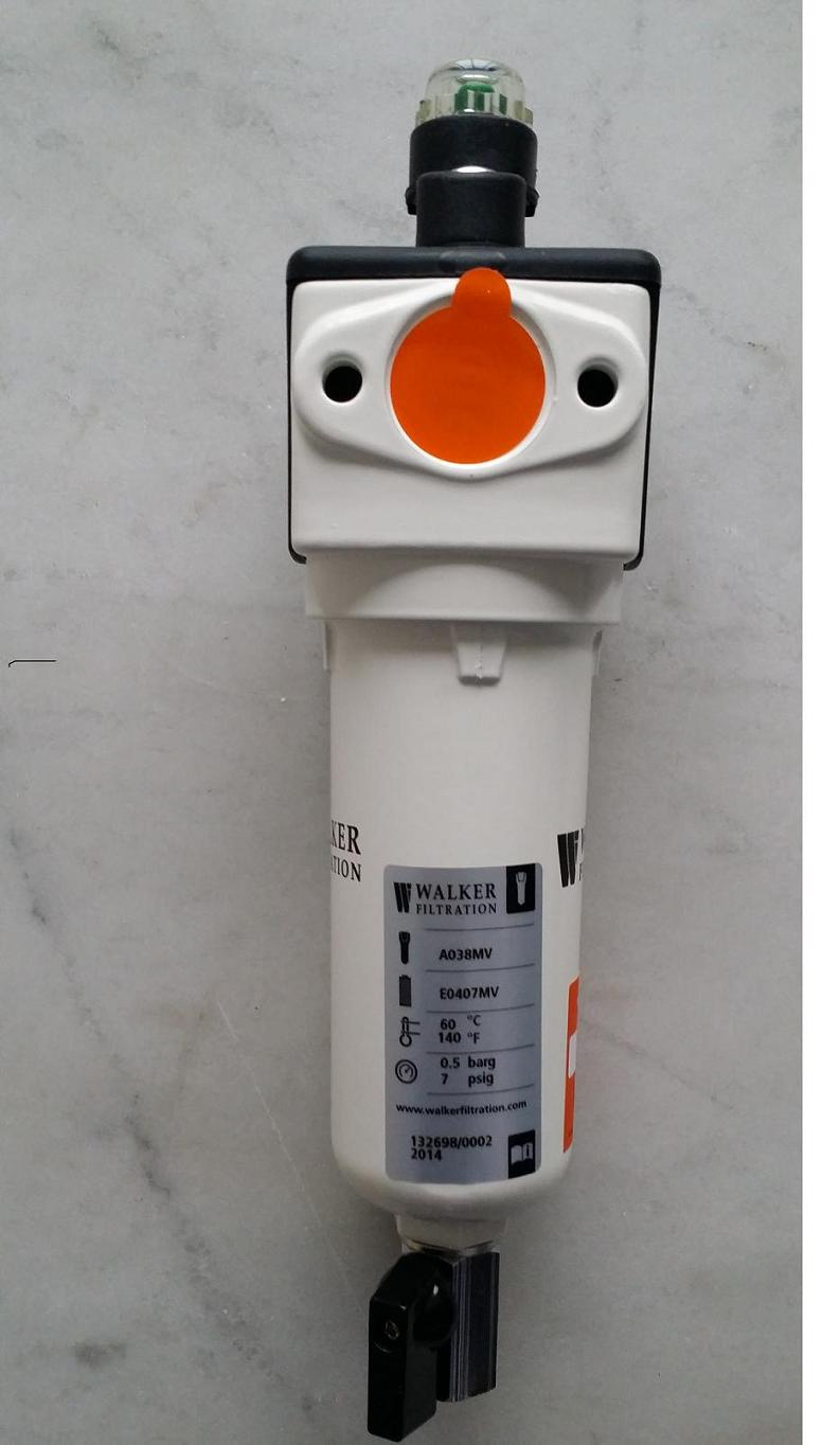 Walker医用真空除菌过滤器空气过滤器