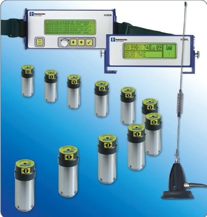 高灵敏度地下水管管网检测系统
