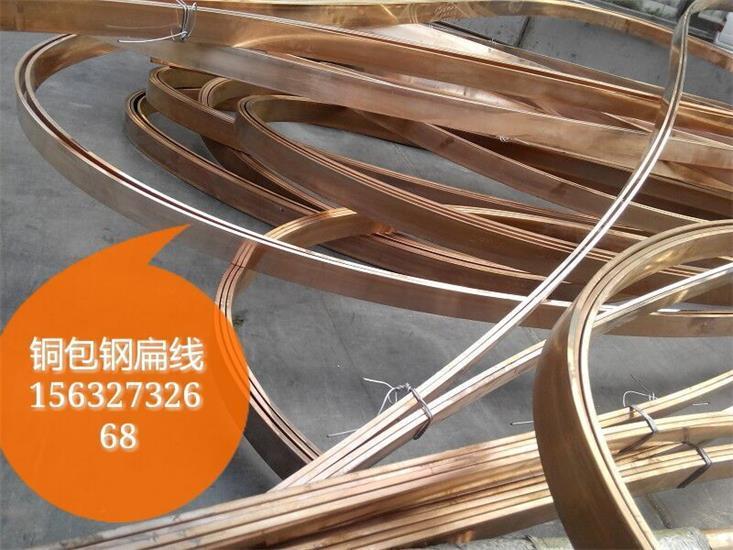 电镀铜包钢扁钢质优现货/选蓝泽