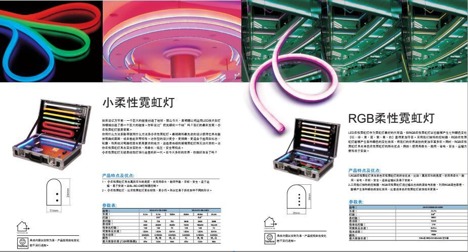 LED柔性霓虹灯生产厂家 LED轮廓灯生产厂家
