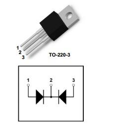 恢复二极管单管MM80FU040PC MM60F060PC