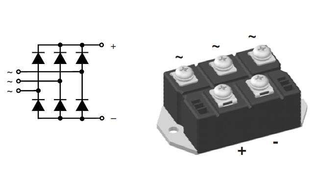 艾赛斯IXYS 可控硅半桥VUO62-16NO7