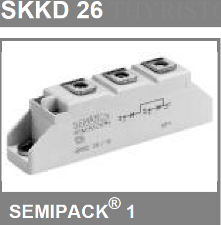 二极管模块SKKD150F 二单元二极管(半桥)
