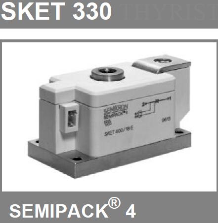 西门康晶闸管SKKT162/16E 二极管模块
