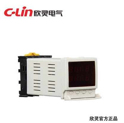 欣灵HHS6A-1智能型数显时间继电器带停电记忆功能 AC220V